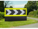 Blakedale Flexiwall, new flexible hazard warning system
