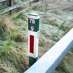 Trunk Road Marker Posts