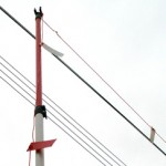 Warning System Posts (overhead electric power lines)