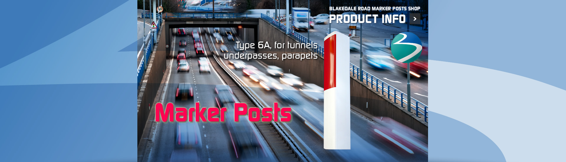 S-3-Marker-Post-Type-6A-tunnels-underpasses-parapets