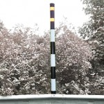 Snow Poles (hazard avoidance in severe weather)